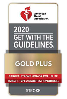 American Heart Association (AHA) Get With The Guidelines Stroke Gold Plus Quality Achievement Award